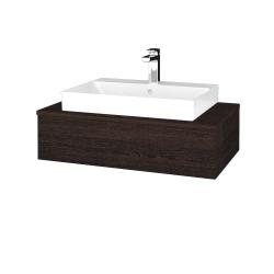 Dřevojas - Koupelnová skříňka MODULE SZZ 80 - D08 Wenge / D08 Wenge (332747)