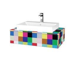 Dřevojas - Koupelnová skříňka MODULE SZZ 80 - IND Individual / IND Individual (332822)