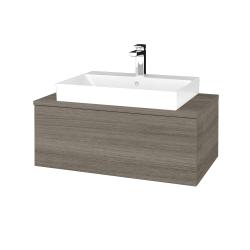 Dřevojas - Koupelnová skříňka MODULE SZZ1 80 - D03 Cafe / D03 Cafe (333171)