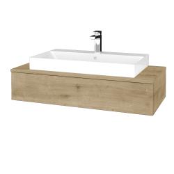 Dřevojas - Koupelnová skříňka MODULE SZZ 100 - D09 Arlington / D09 Arlington (334161)