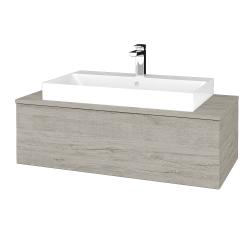 Dřevojas - Koupelnová skříňka MODULE SZZ1 100 - D05 Oregon / D05 Oregon (334680)