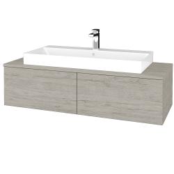 Dřevojas - Koupelnová skříňka MODULE SZZ12 120 - D05 Oregon / D05 Oregon (336189)