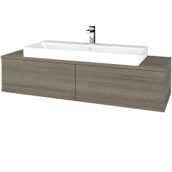 Dřevojas - Koupelnová skříňka MODULE SZZ12 140 - D03 Cafe / D03 Cafe (337612)