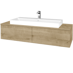 Dřevojas - Koupelnová skříňka MODULE SZZ12 140 - D09 Arlington / D09 Arlington (337667)