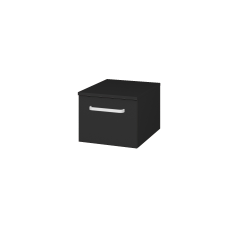 Dřevojas - Skříň nízká DOS SNZ1 40 - L03 Antracit vysoký lesk / Úchytka T01 / L03 Antracit vysoký lesk (281496A)