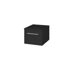 Dřevojas - Skříň nízká DOS SNZ1 40 - L03 Antracit vysoký lesk / Úchytka T04 / L03 Antracit vysoký lesk (281496E)