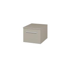 Dřevojas - Skříň nízká DOS SNZ1 40 - L04 Béžová vysoký lesk / Úchytka T03 / L04 Béžová vysoký lesk (281502C)