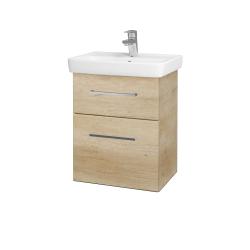 Dřevojas - Koupelnová skříň GO SZZ2 50 - D15 Nebraska / Úchytka T04 / D15 Nebraska (175108E)