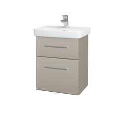 Dřevojas - Koupelnová skříň GO SZZ2 50 - N07 Stone / Úchytka T03 / N07 Stone (204594C)