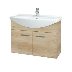Dřevojas - Koupelnová skříň TAKE IT SZD2 85 - D15 Nebraska / Úchytka T01 / D15 Nebraska (206178A)