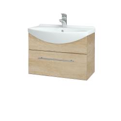Dřevojas - Koupelnová skříň TAKE IT SZZ 65 - D15 Nebraska / Úchytka T02 / D15 Nebraska (206659B)