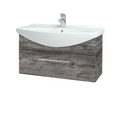 Dřevojas - Koupelnová skříň TAKE IT SZZ 85 - D10 Borovice Jackson / Úchytka T04 / D10 Borovice Jackson (206963E)