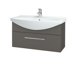 Dřevojas - Koupelnová skříň TAKE IT SZZ 85 - N06 Lava / Úchytka T04 / N06 Lava (207090E)