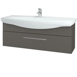 Dřevojas - Koupelnová skříň TAKE IT SZZ 120 - N06 Lava / Úchytka T02 / N06 Lava (207410B)