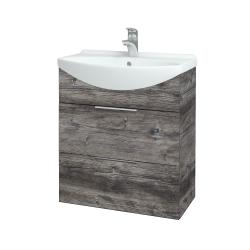 Dřevojas - Koupelnová skříň TAKE IT SZZ2 65 - D10 Borovice Jackson / Úchytka T05 / D10 Borovice Jackson (207441F)