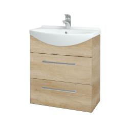 Dřevojas - Koupelnová skříň TAKE IT SZZ2 65 - D15 Nebraska / Úchytka T03 / D15 Nebraska (207458C)