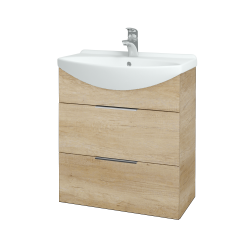 Dřevojas - Koupelnová skříň TAKE IT SZZ2 65 - D15 Nebraska / Úchytka T05 / D15 Nebraska (207458F)