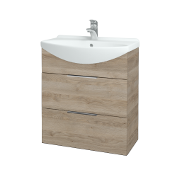Dřevojas - Koupelnová skříň TAKE IT SZZ2 65 - D17 Colorado / Úchytka T05 / D17 Colorado (207472F)