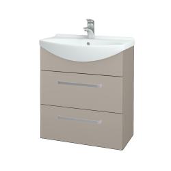 Dřevojas - Koupelnová skříň TAKE IT SZZ2 65 - N07 Stone / Úchytka T01 / N07 Stone (207588A)