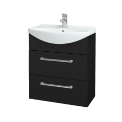 Dřevojas - Koupelnová skříň TAKE IT SZZ2 65 - N08 Cosmo / Úchytka T03 / N08 Cosmo (207595C)