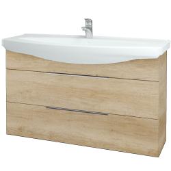 Dřevojas - Koupelnová skříň TAKE IT SZZ2 120 - D15 Nebraska / Úchytka T05 / D15 Nebraska (208097F)