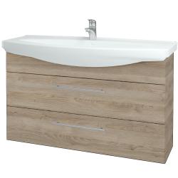 Dřevojas - Koupelnová skříň TAKE IT SZZ2 120 - D17 Colorado / Úchytka T02 / D17 Colorado (208110B)