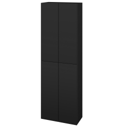 Dřevojas - Skříň vysoká DOS SV1D4 50 - N08 Cosmo / Bez úchytky T31 / N08 Cosmo (209247D)