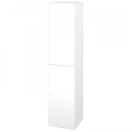 Dřevojas - Skříň vysoká DOS SVD2 35 - M01 Bílá mat / Bez úchytky T31 / M01 Bílá mat / Pravé (210373DP)