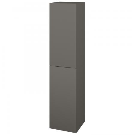Dřevojas - Skříň vysoká DOS SVD2 35 - N06 Lava / Bez úchytky T31 / N06 Lava / Pravé (210489DP)