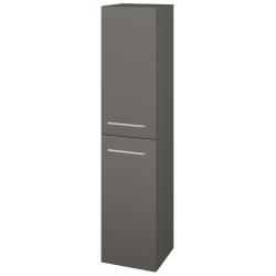 Dřevojas - Skříň vysoká DOS SVD2 35 - N06 Lava / Úchytka T04 / N06 Lava / Levé (210489E)
