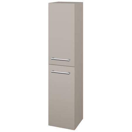 Dřevojas - Skříň vysoká DOS SVD2 35 - N07 Stone / Úchytka T03 / N07 Stone / Pravé (210496CP)