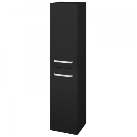 Dřevojas - Skříň vysoká DOS SVD2 35 - N08 Cosmo / Úchytka T01 / N08 Cosmo / Levé (210502A)