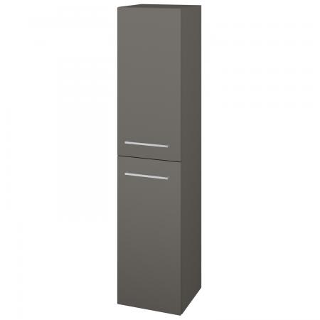 Dřevojas - Skříň vysoká s košem DOS SVD2K 35 - N06 Lava / Úchytka T04 / N06 Lava / Pravé (210946EP)