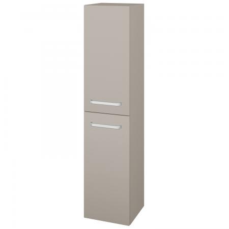 Dřevojas - Skříň vysoká s košem DOS SVD2K 35 - N07 Stone / Úchytka T01 / N07 Stone / Pravé (210953AP)