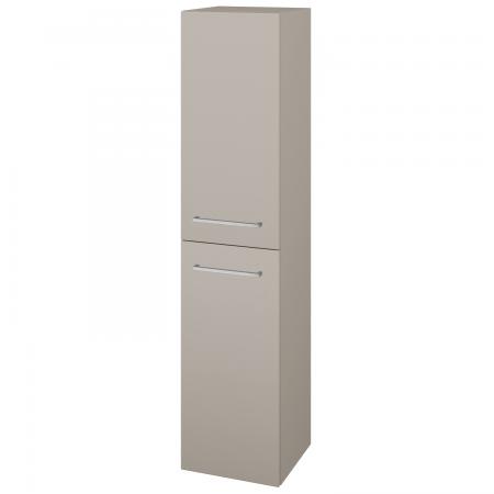 Dřevojas - Skříň vysoká s košem DOS SVD2K 35 - N07 Stone / Úchytka T04 / N07 Stone / Levé (210953E)