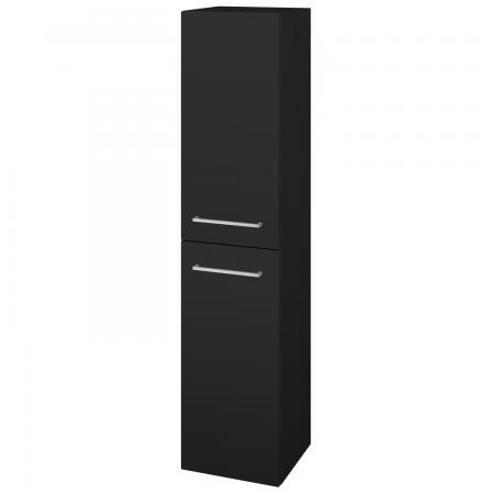 Dřevojas - Skříň vysoká s košem DOS SVD2K 35 - N08 Cosmo / Úchytka T04 / N08 Cosmo / Levé (210960E)