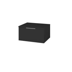 Dřevojas - Skříň nízká DOS SNZ1 60 - N03 Graphite / Úchytka T05 / N03 Graphite (281045F)