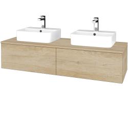 Dřevojas - Koupelnová skříňka MODULE SZZ12 140 - D15 Nebraska / D15 Nebraska (303136)