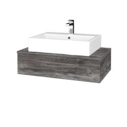 Dřevojas - Koupelnová skříňka MODULE SZZ 80 - D10 Borovice Jackson / D10 Borovice Jackson (311100)
