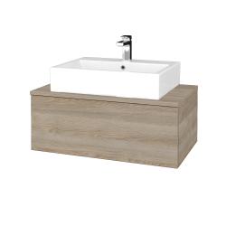 Dřevojas - Koupelnová skříňka MODULE SZZ1 80 - D17 Colorado / D17 Colorado (311605)