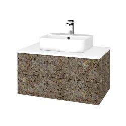 Dřevojas - Koupelnová skříňka MODULE SZZ2 80 - J01 Organic / J01 Organic (318666)