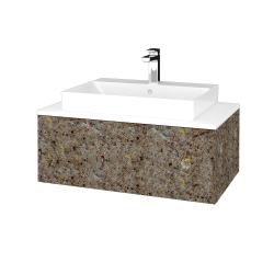 Dřevojas - Koupelnová skříňka MODULE SZZ1 80 - J01 Organic / J01 Organic (334598)