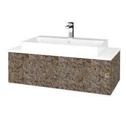 Dřevojas - Koupelnová skříňka MODULE SZZ1 100 - J01 Organic / J01 Organic (335120)