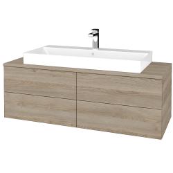 Dřevojas - Koupelnová skříňka MODULE SZZ4 120 - D17 Colorado / D17 Colorado (336721)