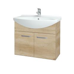 Dřevojas - Koupelnová skříň TAKE IT SZD2 75 - D15 Nebraska / Úchytka T01 / D15 Nebraska (206017A)