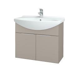 Dřevojas - Koupelnová skříň TAKE IT SZD2 75 - N07 Stone / Úchytka T05 / N07 Stone (206147F)