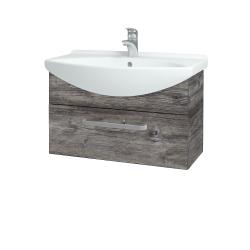Dřevojas - Koupelnová skříň TAKE IT SZZ 75 - D10 Borovice Jackson / Úchytka T01 / D10 Borovice Jackson (206802A)