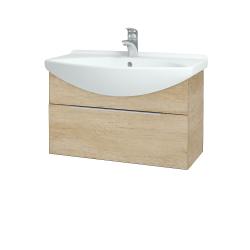 Dřevojas - Koupelnová skříň TAKE IT SZZ 75 - D15 Nebraska / Úchytka T05 / D15 Nebraska (206819F)
