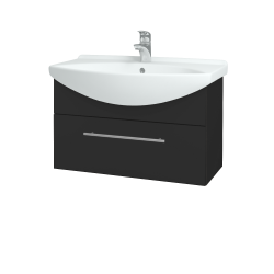 Dřevojas - Koupelnová skříň TAKE IT SZZ 75 - N03 Graphite / Úchytka T02 / N03 Graphite (206925B)