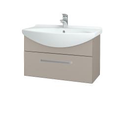 Dřevojas - Koupelnová skříň TAKE IT SZZ 75 - N07 Stone / Úchytka T01 / N07 Stone (206949A)